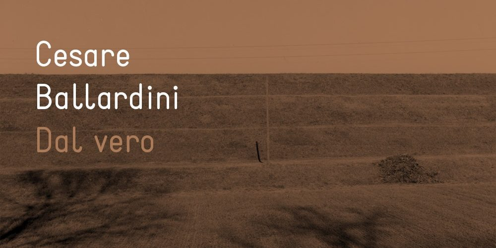 Cesare Ballardini - Dal vero